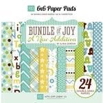 Echo Park - Bundle of Joy New Addition Collection - Boy - 6 x 6 Paper Pad