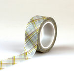 Echo Park - Bundle of Joy New Addition Collection - Boy - Decorative Tape - Plaid