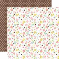 Echo Park - Bundle of Joy Collection - Girl - 12 x 12 Double Sided Paper - Baby Cakes