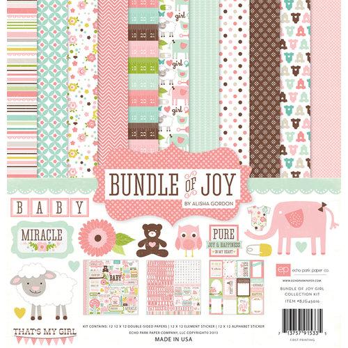 Echo Park - Bundle of Joy Collection - Girl - 12 x 12 Collection Kit