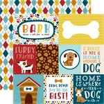 Echo Park - Bark Collection - 12 x 12 Double Sided Paper - Journaling Cards