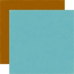 Echo Park - Bark Collection - 12 x 12 Double Sided Paper - Blue