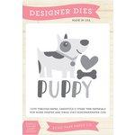 Echo Park - Bark Collection - Designer Dies - Puppy Love