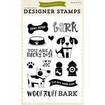 Echo Park - Bark Collection - Clear Acrylic Stamps - Lucky Dog