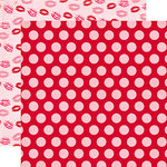 Echo Park - Blowing Kisses Collection - 12 x 12 Double Sided Paper - Large Dot