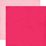 Echo Park - Blowing Kisses Collection - 12 x 12 Double Sided Paper - Hot Pink