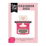 Echo Park - Blowing Kisses Collection - Designer Dies - Just My Type