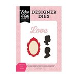 Echo Park - Blowing Kisses Collection - Designer Dies - Silhouette Love