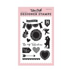 Echo Park - Blowing Kisses Collection - Clear Acrylic Stamps - Blowing Kisses