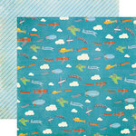 Echo Park - A Boy's Life Collection - 12 x 12 Double Sided Paper - Daydreamer