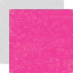 Echo Park - Be Mine Collection - Valentine - 12 x 12 Double Sided Paper - Lipgloss and Stone