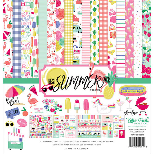 Echo Park - Best Summer Ever Collection - 12 x 12 Collection Kit