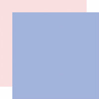 Echo Park - Best Summer Ever Collection - 12 x 12 Double Sided Paper - Periwinkle