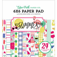 Echo Park - Best Summer Ever Collection - 6 x 6 Paper Pad