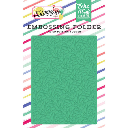 Echo Park - Best Summer Ever Collection - Embossing Folder - Summer Splash