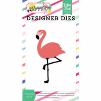 Echo Park - Best Summer Ever Collection - Designer Dies - Cool Flamingo