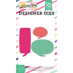 Echo Park - Best Summer Ever Collection - Designer Dies - Summer Thought Bubbles