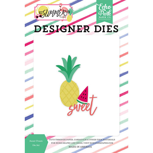 Echo Park - Best Summer Ever Collection - Designer Dies - Sweet Treats