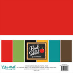 Echo Park - Back to School Collection - 12 x 12 Paper Pack - Solids