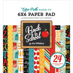 Echo Park - Back to School Collection - 6 x 6 Paper Pad