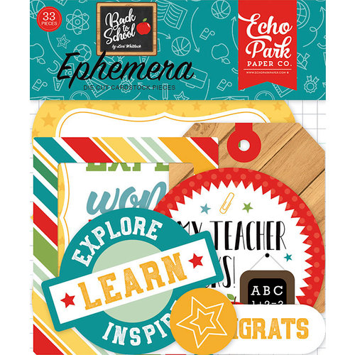 Echo Park - Back to School Collection - Ephemera