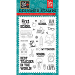 Echo Park - Back to School Collection - Clear Acrylic Stamps - Star Student