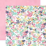 Echo Park - Creative Agenda Collection - 12 x 12 Double Sided Paper - Small Floral