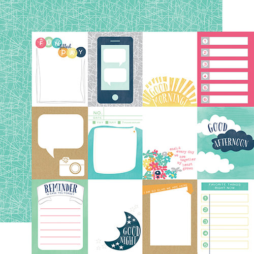Echo Park Paper Company CA70016 Creative Agenda Collection Scrapbooking Kit