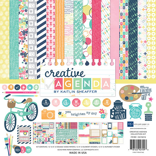 Echo Park - Creative Agenda Collection - 12 x 12 Collection Kit