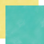 Echo Park - Creative Agenda Collection - 12 x 12 Double Sided Paper - Teal
