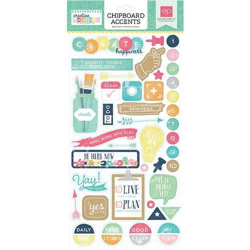 Echo Park - Creative Agenda Collection - Chipboard Stickers