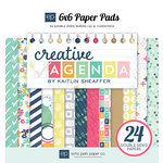 Echo Park - Creative Agenda Collection - 6 x 6 Paper Pad