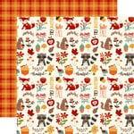 Echo Park - Celebrate Autumn Collection - 12 x 12 Double Sided Paper - Autumn Friends