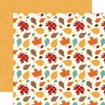 Echo Park - Celebrate Autumn Collection - 12 x 12 Double Sided Paper - Falling Leaves