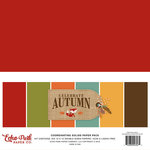 Echo Park - Celebrate Autumn Collection - 12 x 12 Paper Pack - Solids
