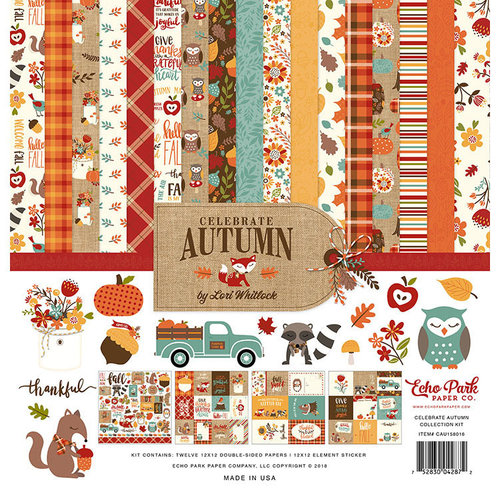 Echo Park - Celebrate Autumn Collection - 12 x 12 Collection Kit