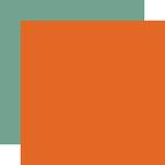 Echo Park - Celebrate Autumn Collection - 12 x 12 Double Sided Paper - Orange