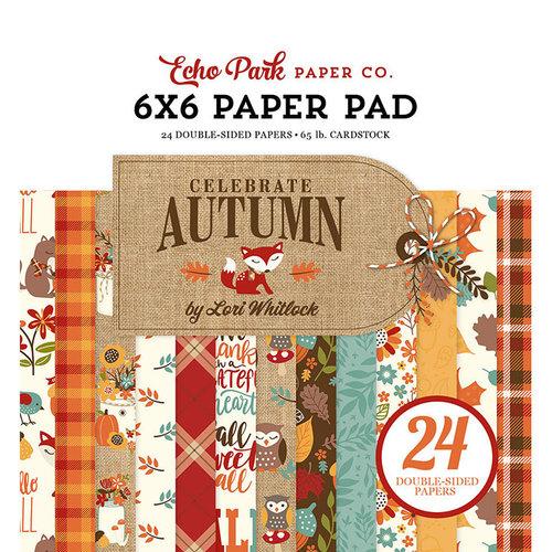 Echo Park - Celebrate Autumn Collection - 6 x 6 Paper Pad
