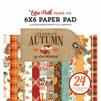 Echo Park - Celebrate Autumn Collection - 6 x 6 Paper Pad