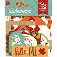 Echo Park - Celebrate Autumn Collection - Ephemera