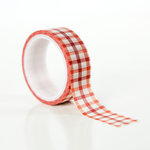 Echo Park - Celebrate Autumn Collection - Decorative Tape - Autumn Gingham