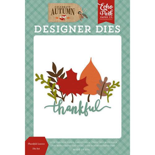 Echo Park - Celebrate Autumn Collection - Designer Dies - Thankful Leaves