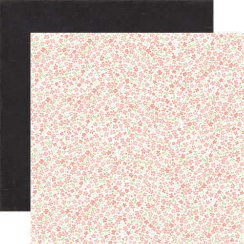 Carta Bella - Rustic Elegance Collection - 12 x 12 Double Sided Paper - Small Floral