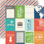 Carta Bella - Travel Stories Collection - 12 x 12 Double Sided Paper - Excursion