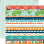 Carta Bella - Travel Stories Collection - 12 x 12 Double Sided Paper - Voyage
