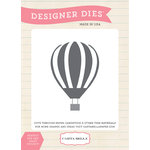 Carta Bella - Travel Stories Collection - Designer Dies - Up Up and Away Balloon