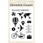 Carta Bella - Travel Stories Collection - Clear Acrylic Stamps - Journey Together