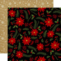 Echo Park - Celebrate Christmas Collection - 12 x 12 Double Sided Paper - Holly Jolly