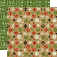 Echo Park - Celebrate Christmas Collection - 12 x 12 Double Sided Paper - Cold Outside