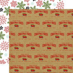 Echo Park - Celebrate Christmas Collection - 12 x 12 Double Sided Paper - Tree Farm